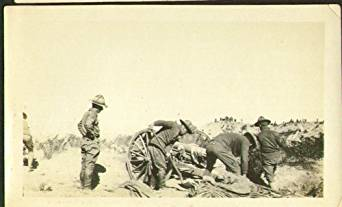 artillery training fort bliss 1917
