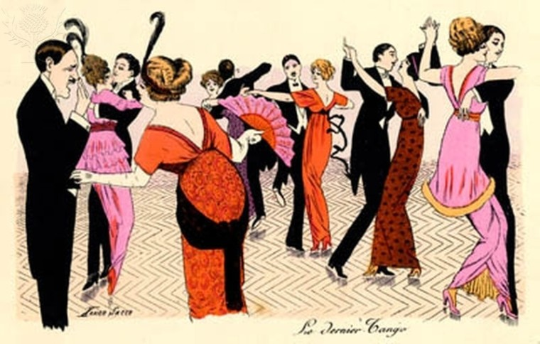 Le Dernier Tango by Xavier Nacer.  Pre World War I dance.