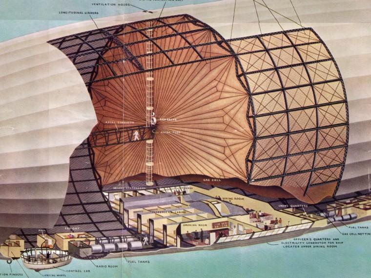 zeppelin inside